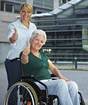 Alliance provides an in home caregiver 24/7 as needed – image.